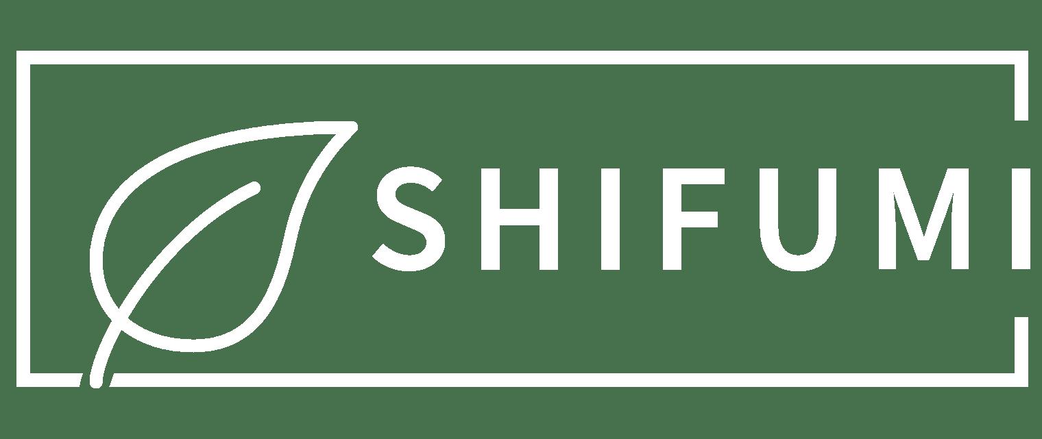 Logo Shifumi blanc