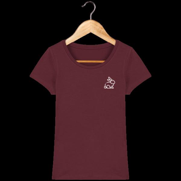 t-shirt-lapin-femme_burgundy_face