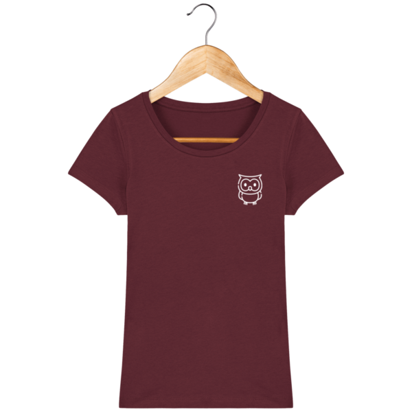 t-shirt-hibou-femme_burgundy_face