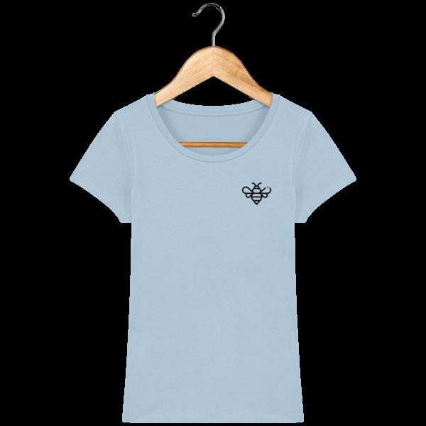 t-shirt-abeille-femme_sky-blue_face