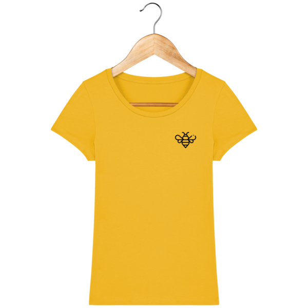 t-shirt-abeille-femme_spectra-yellow_face