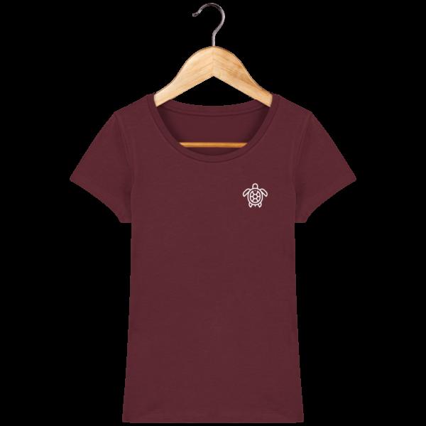 t-shirt-tortue-femme_burgundy_face