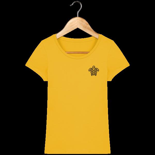 t-shirt-tortue-femme_spectra-yellow_face
