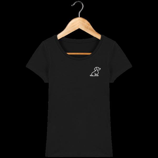 t-shirt-chien-femme_black_face