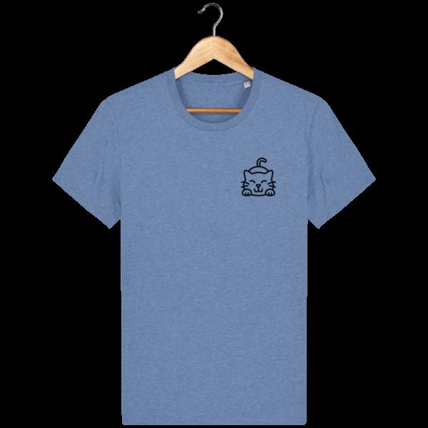 t-shirt-cat_mid-heather-blue_face