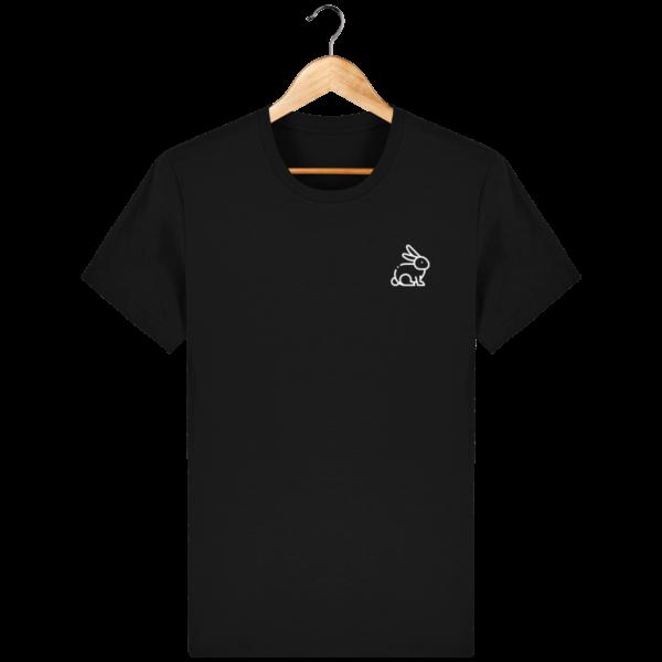 t-shirt-lapin-homme_black_face