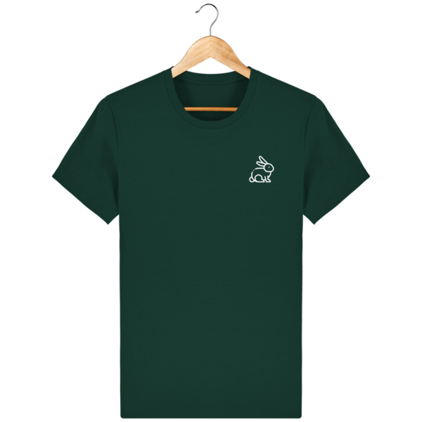t-shirt-lapin-homme_glazed-green_face