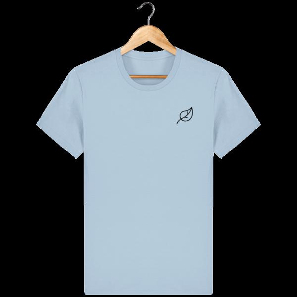 t-shirt-feuille-homme_sky-blue_face