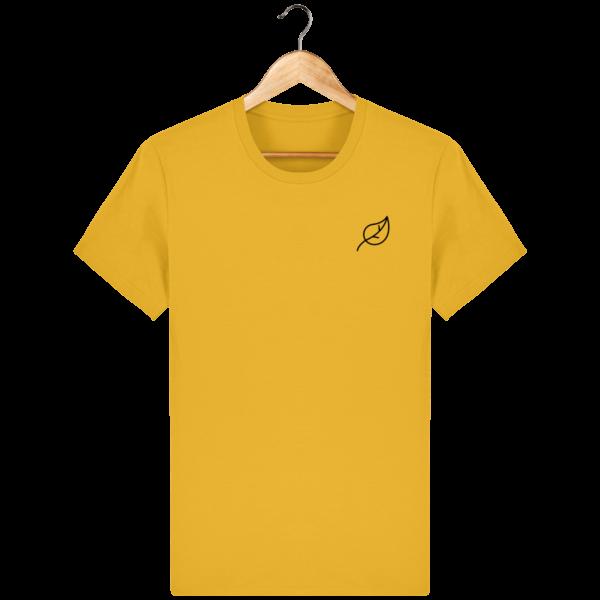 t-shirt-feuille-homme_spectra-yellow_face