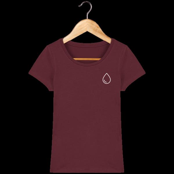 t-shirt-eau-femme_burgundy_face