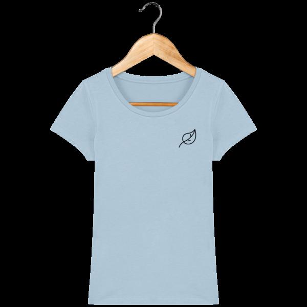 t-shirt-feuille-femme_sky-blue_face