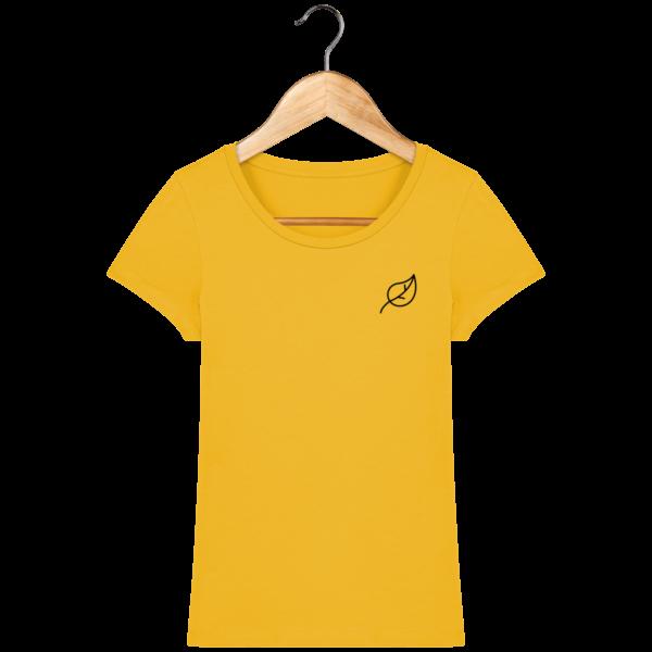 t-shirt-feuille-femme_spectra-yellow_face