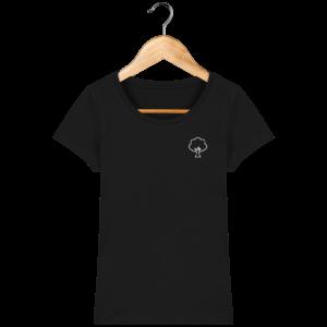 T-shirt bio femme terre arbre